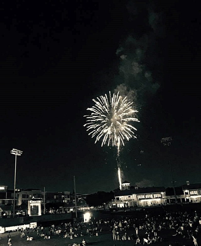Fireworks at the Ball Park 2016